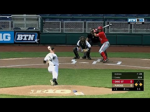 Ohio State vs. Purdue Highlights | 2018 Big Ten Baseball Tournament
