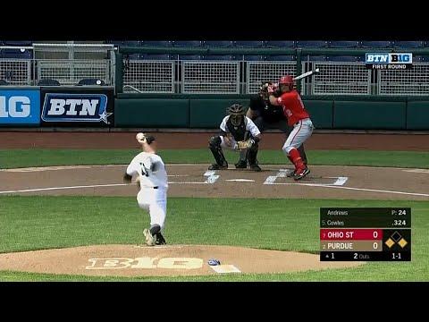 ohio-state-vs.-purdue-highlights-|-2018-big-ten-baseball-tournament