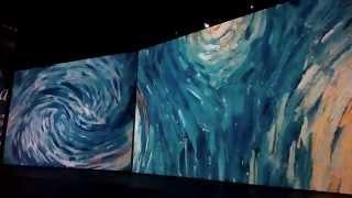 """На выставке в Artplay """"Ожившие полотна Ван Гога"""""""