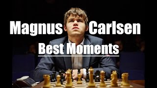 Best of Magnus Carlsen - Funny and Angry Moments!