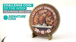 Military Challenge Coins - YouTube