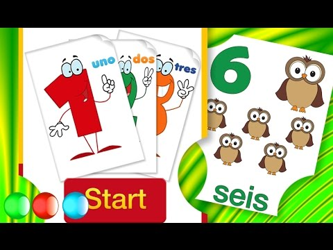 Teach Your Toddler Spanish - Learning to Write Numbers 0 ...
