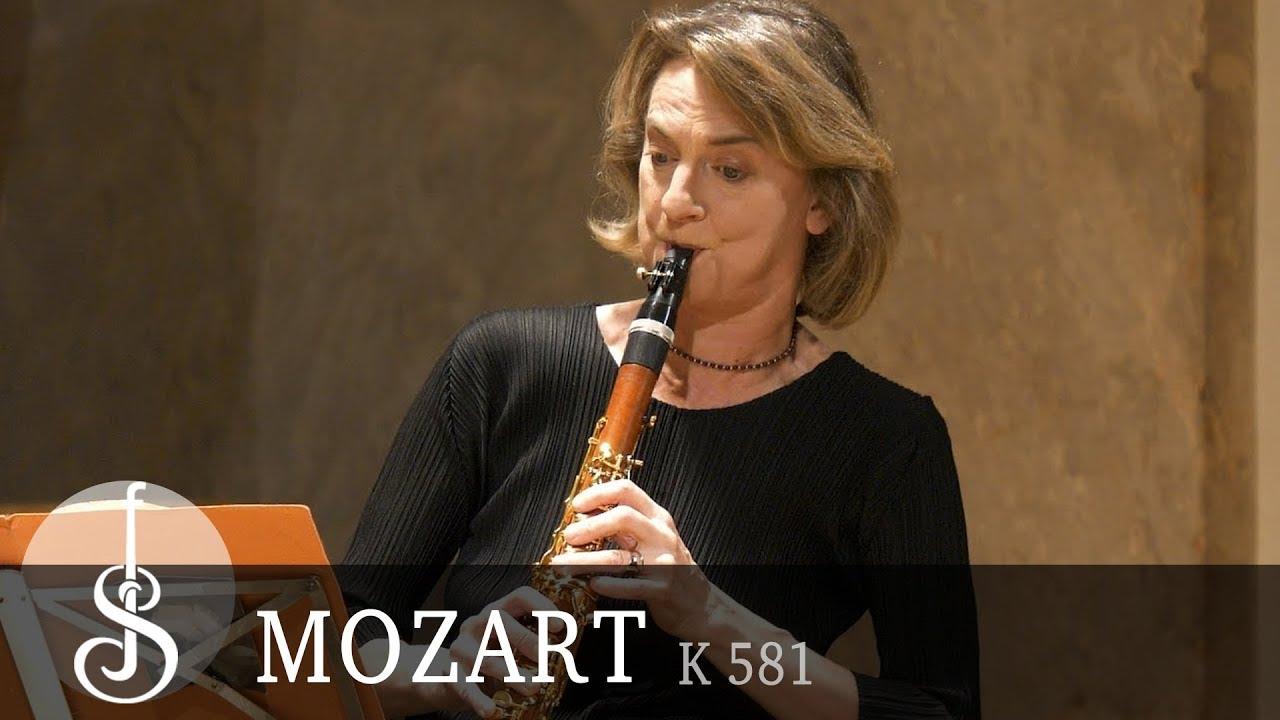 Mozart | Clarinet quintet K581 in A major (Armida Quartet, Sabine Meyer)