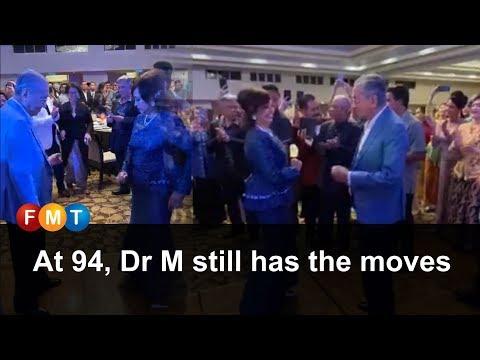 At 94, Dr M Still Has The Moves
