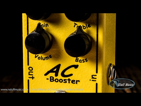 Xotic Effects AC Booster Overdrive Pedal