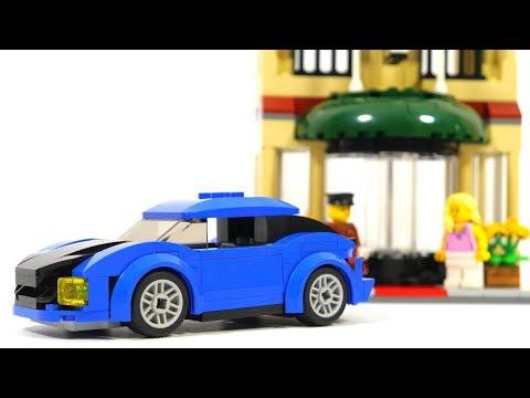 Lego City 60200 Capital City Hotel and Car