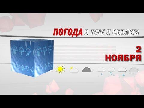 Прогноз погоды в Тульской области на 2 ноября 2019 года