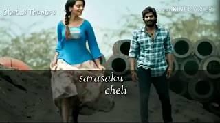 Pillaa Raa Full Song Lyrical | RX 100 Movie Songs | Payal Rajput | Anurag