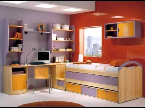 Dormitorios infantiles con mesa de estudio youtube - Mesa estudio infantil ...
