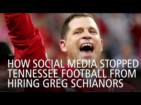 How Social Media Stopped Tennessee Football From Hiring Greg Schiano