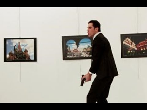 Russian Ambassador Assassinated In Turkey (VIDEO)