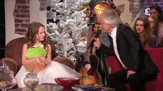 Amira Willighagen - Du côté de chez Dave - TV Show France 3 - 21 December 2014