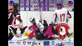 Матч №67 ГРЕНАДА-БЕЛЫЕ МЕДВЕДИ 2:4 НХЛ-2018