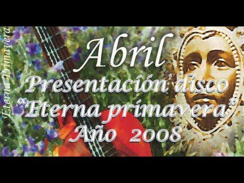 """ANDÚJAR SIEMPRE SOÑANDO. PRESENTACIÓN """"ETERNA PRIMAVERA"""". ANDÚJAR 2008."""