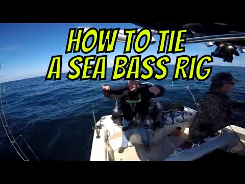 How To Tie A Black Sea Bass Rig