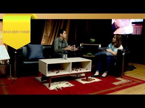 BINUS MEDIA FORUM - Adam Pratama - Menyelami Pekerjaan Radio Announcer Dreamers ID
