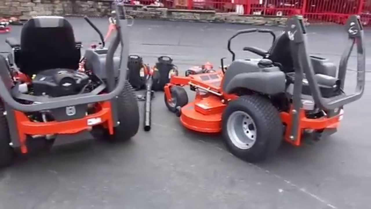 Husqvarna Fleet Package with MZT-52 & MZT-61 Zero Turn Lawn Mower