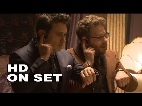The Interview: Behind the Scenes Full Movie Broll - Seth Rogen, James Franco