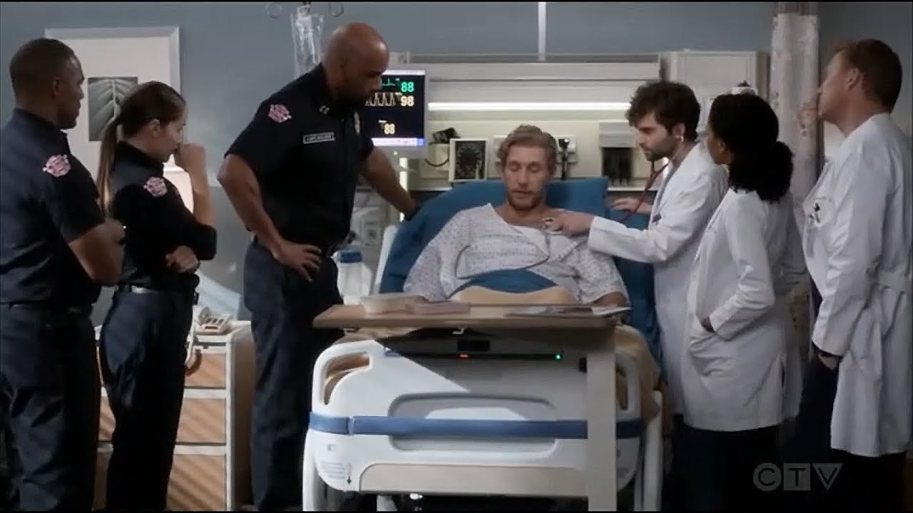 Download Station 19 - Andy and Ben find out about Vic and Ripley