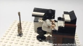 Tony Banks Vintage Instruments in Lego