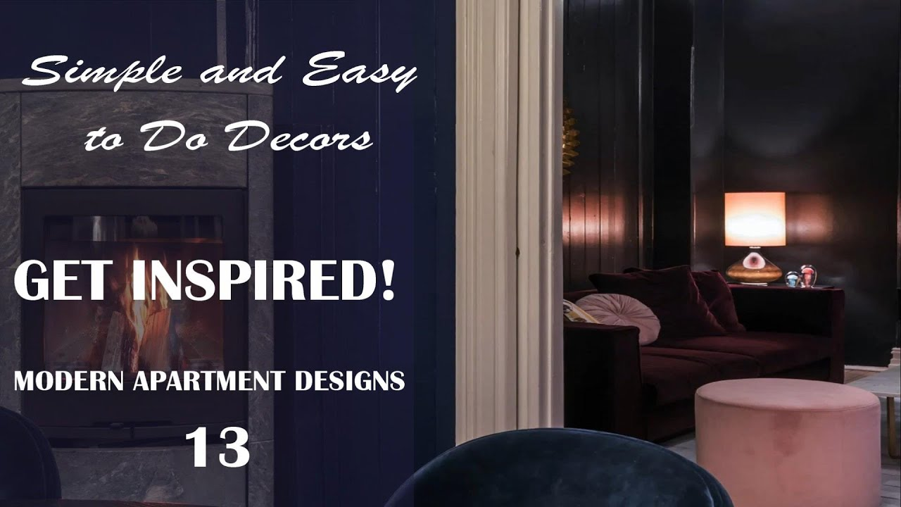 Download Simple and Easy to Do Decors  - GET INSPIRED!   Modern Apartment Designs #13
