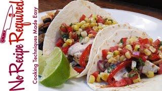 Tomato & Corn Salsa - NoRecipeRequired.com