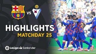 Highlights Fc Barcelona Vs Sd Eibar 5-0