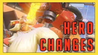 Checking Out New Hero Changes! - Seagull - Overwatch - Stafaband