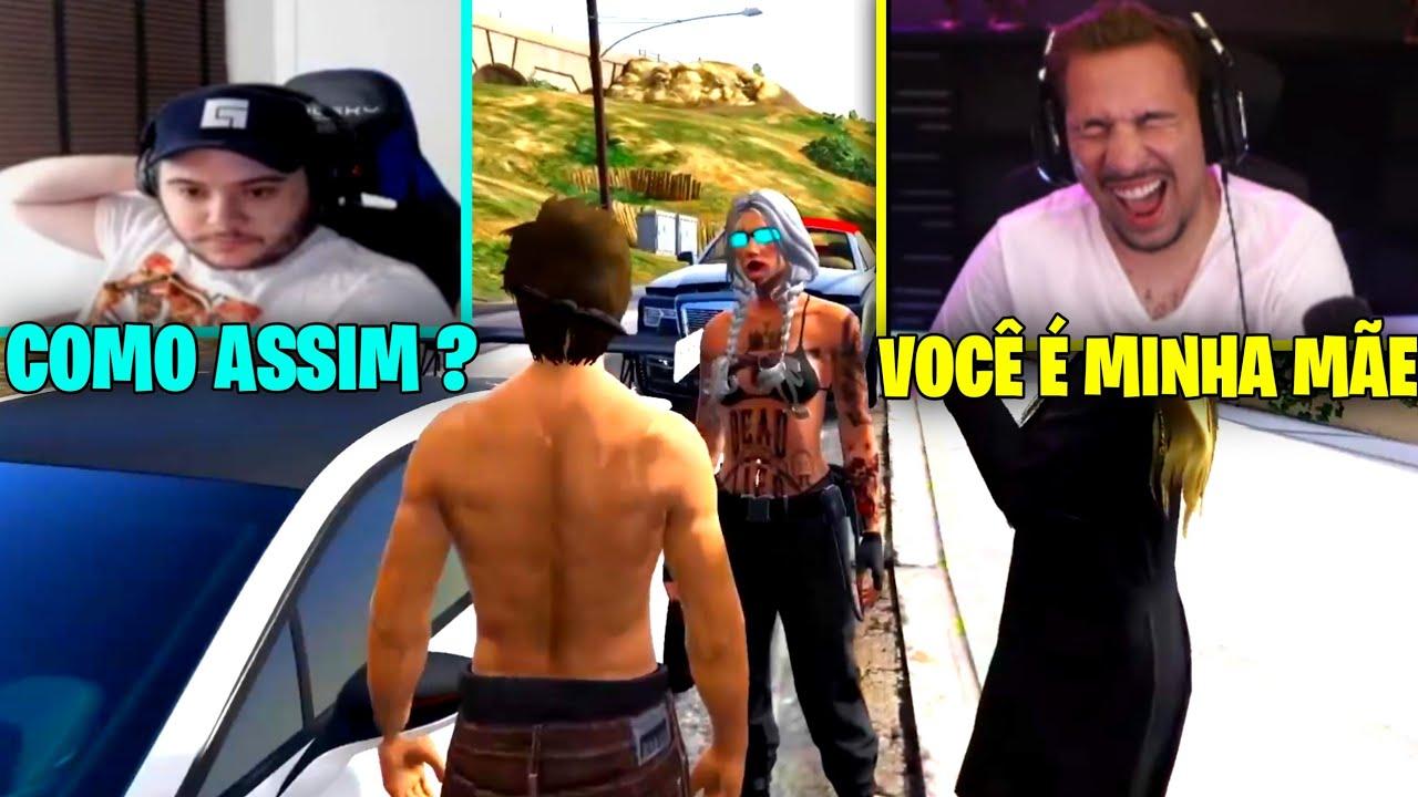 PIUZINHO ENCONTROU A MÃE DELE !!!