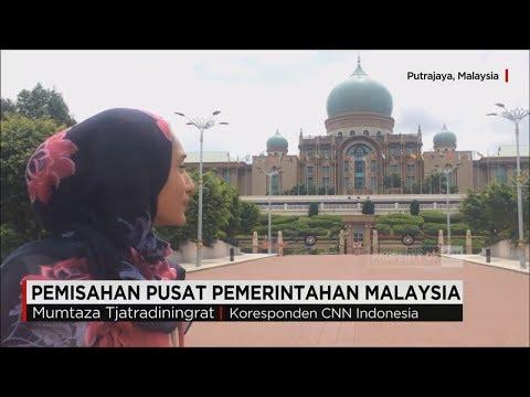 Pemisahan Pusat Pemerintahan Malaysia, Putrajaya dan Ibu Kota Kuala Lumpur