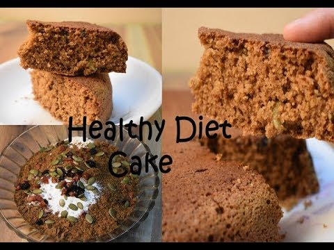 Healthy Diet Guilt Free Cake Recipe/Cake Recipe Without Oil, Butter, Sugar & All Purpose Flour