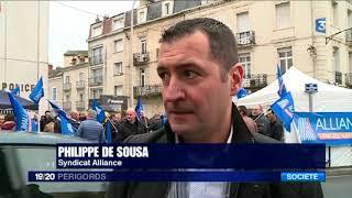RASSEMBLEMENT DEVANT LE CIAT DE PERIGUEUX LE 25 JANVIER 2018