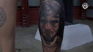 Matteo Pasqualin - Tattoo Timelapse | London Tattoo Convention 2018