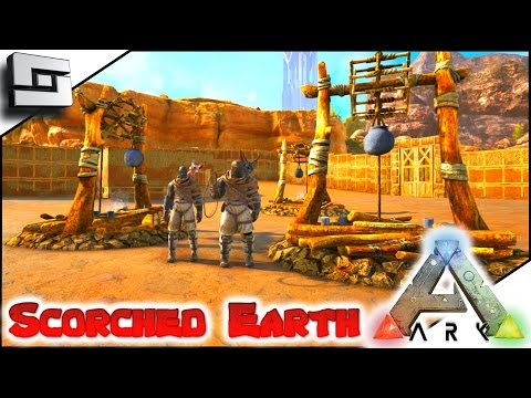MODDED ARK: Scorched Earth - IT BEGINS! E1 ( Ark Survival Evolved Gameplay )