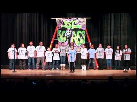 2012 DC SCORES Poetry Slam! -- Tubman Elementary School