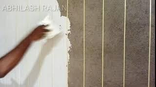 Paneling making tutorial part 1,teak wood paneling create, low coast method, wood make used putty