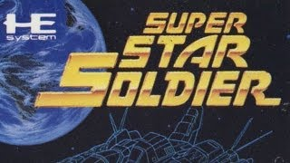Classic Game Room - SUPER STAR SOLDIER review for PC Engine