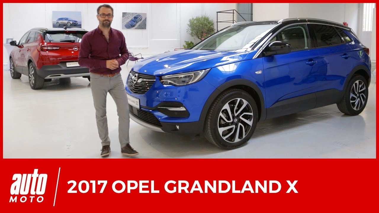 opel grandland x 2017 pr sentation d taill e du suv. Black Bedroom Furniture Sets. Home Design Ideas