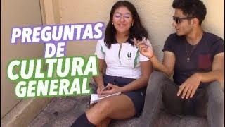 PREGUNTAS DE CULTURA GENERAL VS UNILA