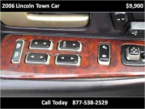2006 Lincoln Town Car Used Cars Long Island City NY