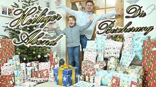 Weihnachten 2018 🎅  Schöne Bescherung 🎁 Heiliger Abend mit TipTapTube 🎄 GESCHENKE auspacken 🎁