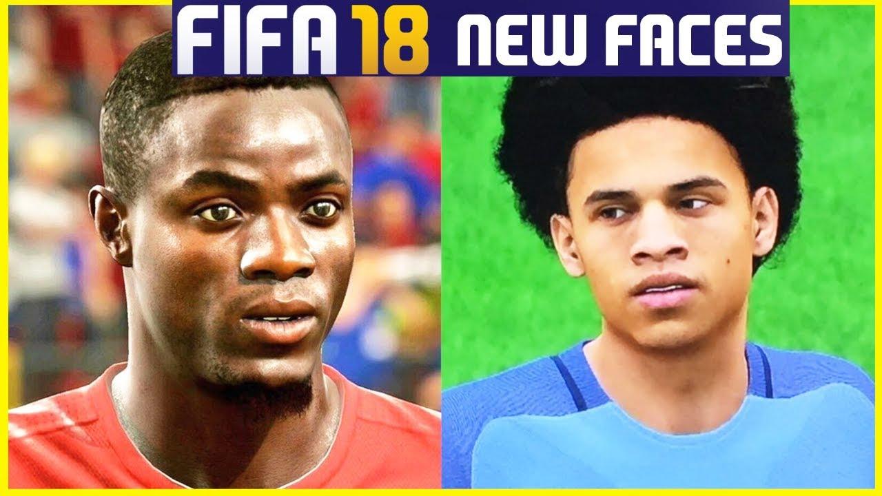 Fifa 18 Faces