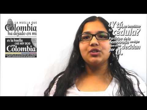 Inscripción de cédulas para colombianos en el exterior