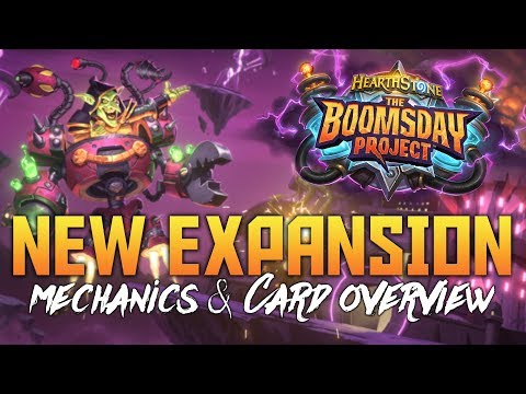 The Boomsday Project - New Hearthstone Expansion | Features Overview & New Cards
