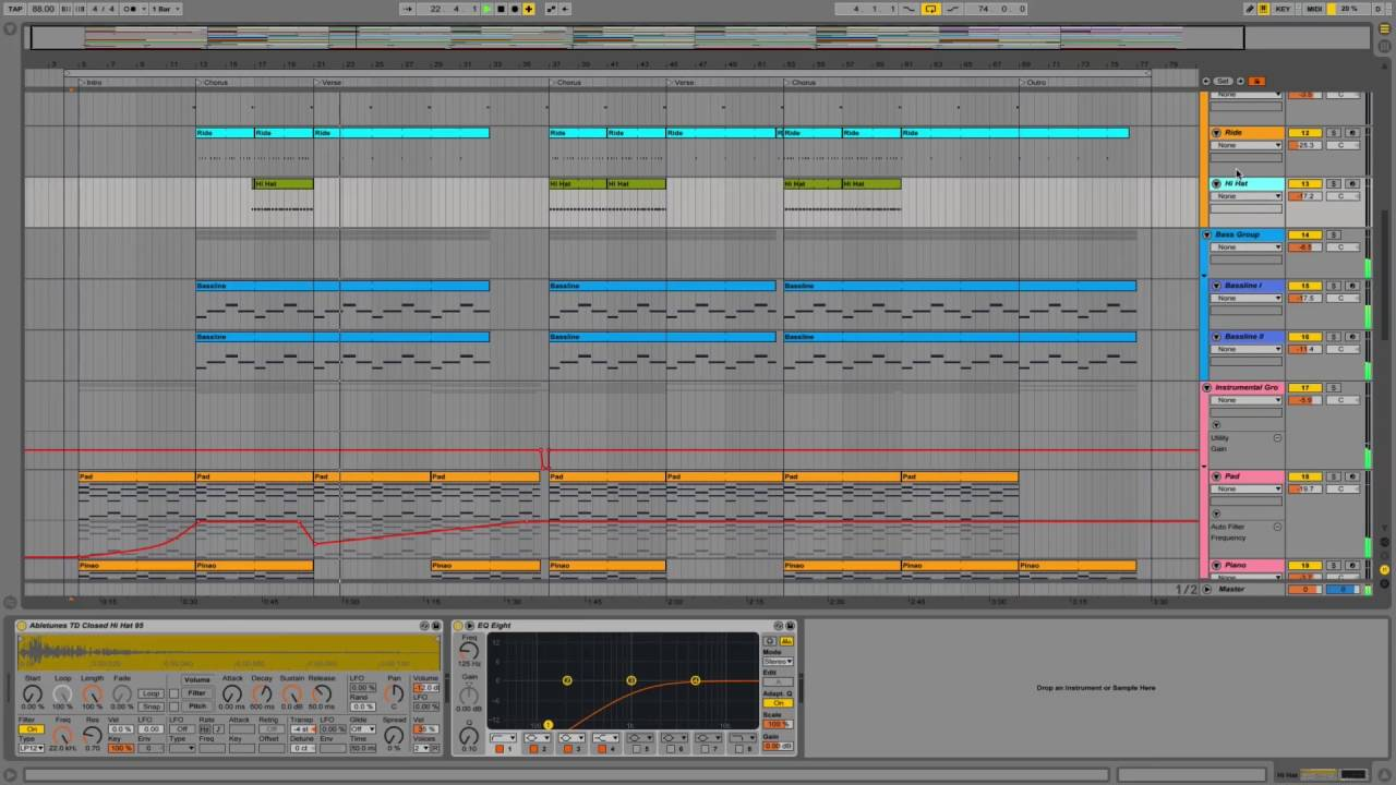 DJ Khaled Style Hip Hop Ableton Template \