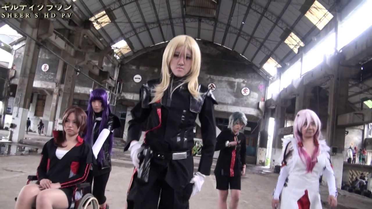 Animania 2012 Guilty Crown Tsugumi cosplay defile - YouTube