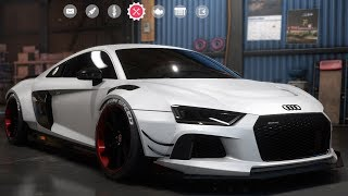 Need For Speed: Payback - Audi R8 V10 Plus - Customize | Tuning Car (PC HD) [1080p60FPS]