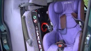 Autostoel maxi cosi Axiss Instructies / voorbeeld / uitleg