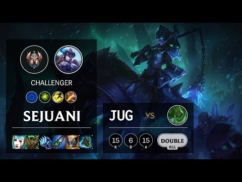 Sejuani Jungle vs Zac - EUNE Challenger Patch 10.8