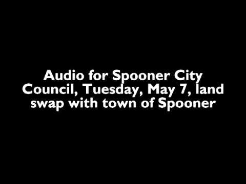 Audio for city of Spooner land swap with town of Spooner